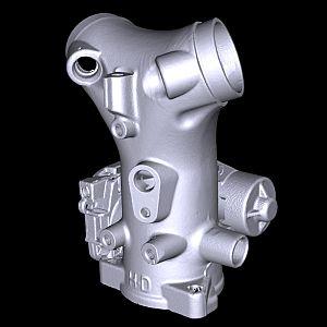 اسکن سه بعدی قطعات صنعتی
