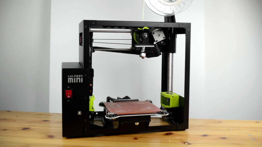 پرینتر سه بعدی Lulzbot Mini