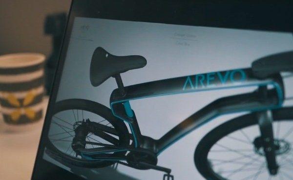 پرینت سه بعدی دوچرخه فیبر کربنی هوشمند