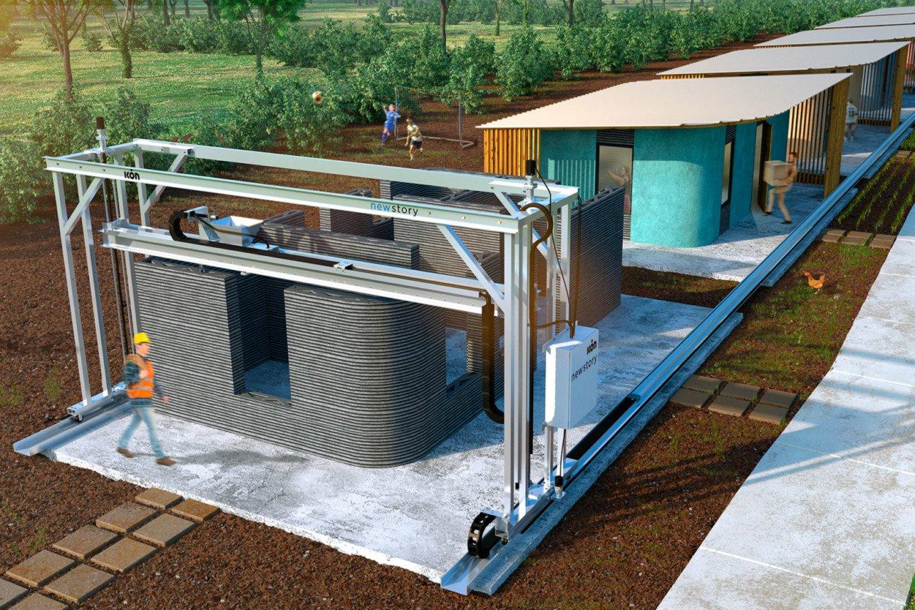 تحول پرینتر سه بعدی در ساختمان سازی